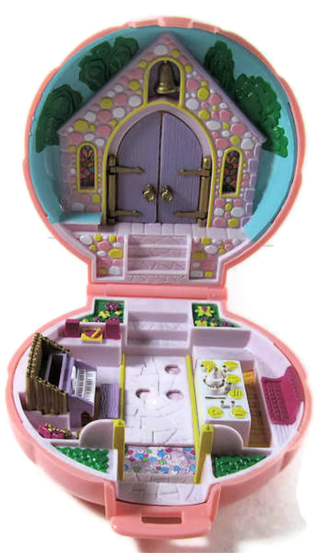 Polly Pockets For Sale: 1989 Polly Pocket Wedding Day (pink