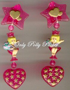 There Is A Variation Of These Earrings Not On Only Polly Pocket Yet But Coming