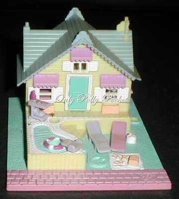 1993 Polly Pocket Summer House