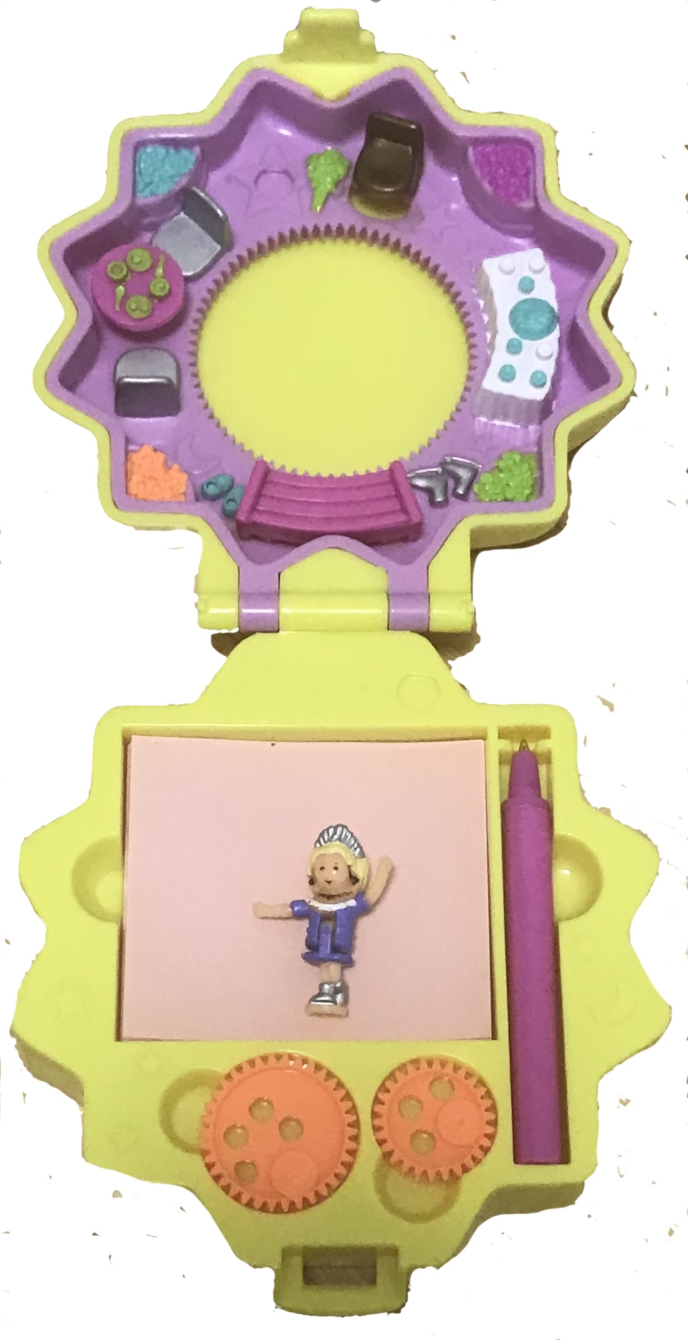 1995 Polly Pocket Polly S Pattern And Picture Maker