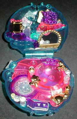 1996 Polly Pocket Bubbly Bath