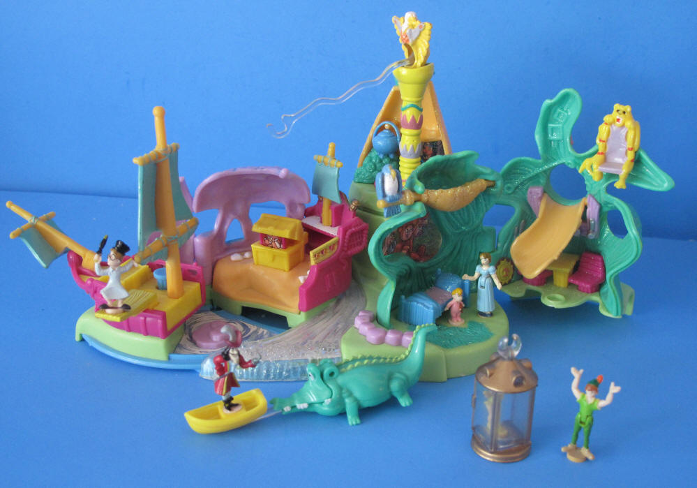 Peter Pan Toys : Disney s peter pan neverland playset bluebird toys