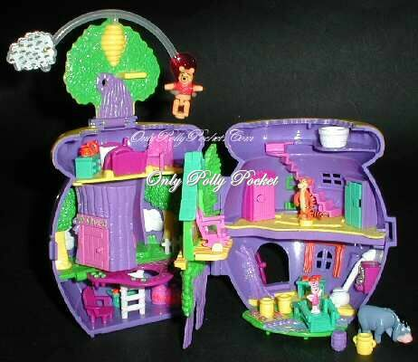 1998 Winnie The Pooh Playset Hunny Pot