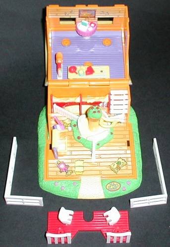 Polly Pockets For Sale: 1998 Action Park Polly Pocket Pony Ride