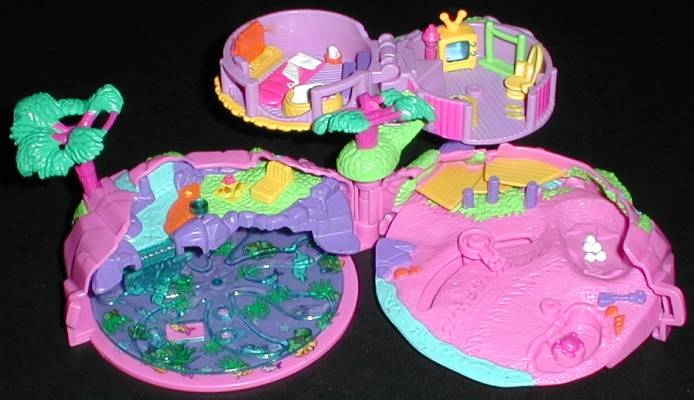 2000 Polly Pocket Tropical Pets