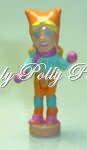 2002 Polly Pocket Sparkle muñeco de nieve del árbol de navidad Ornamento Origen